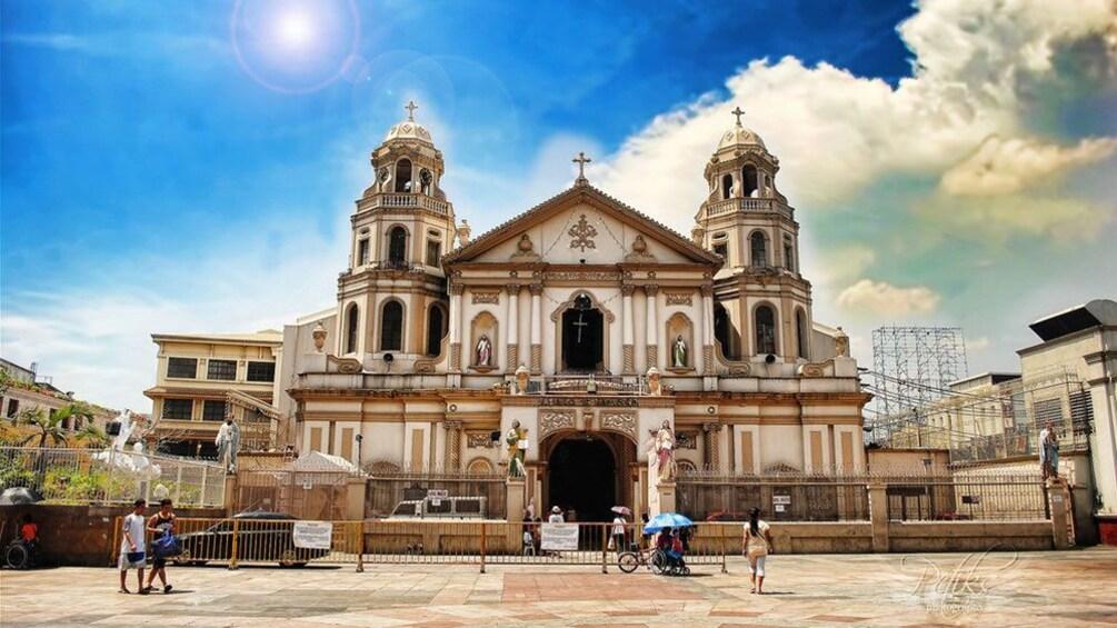 Show item 6 of 6. Quiapo Church in Manila