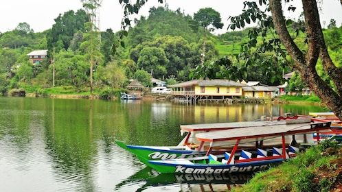 Boats in rural Indonesia
