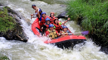 Private Full-Day Pengalengan Rafting Adventure & Cileunca Lake Tour