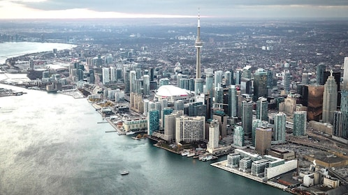 Downtown Toronto aerial view
