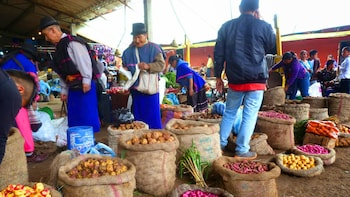 Day Trip to Silvia Indigenous Market