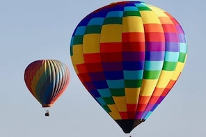 Private Hot Air Balloon Flight with an after-flight celebration!