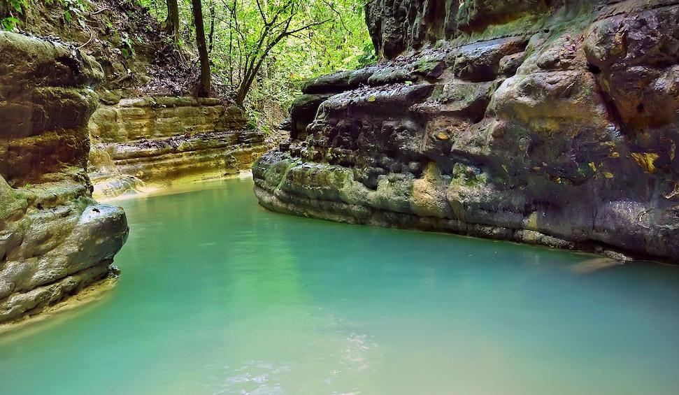Foto 3 von 10 laden Damajagua Waterfalls Adventure with Lunch