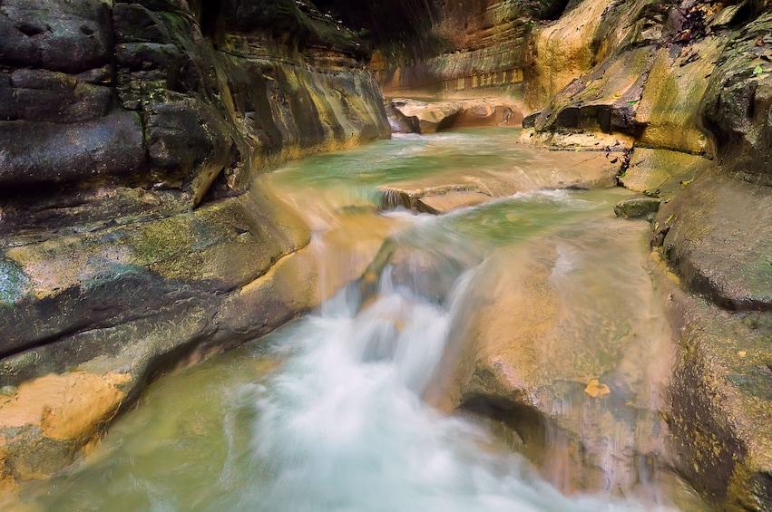 Foto 4 von 10 laden Damajagua Waterfalls Adventure with Lunch