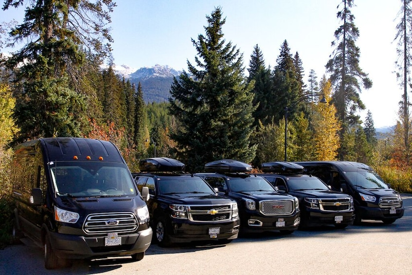 Show item 5 of 5. Private Executive Minibus: Downtown Vancouver - Whistler