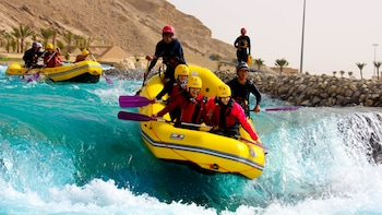 Visite du Wadi Adventure Park, formule Ultimate Adventure