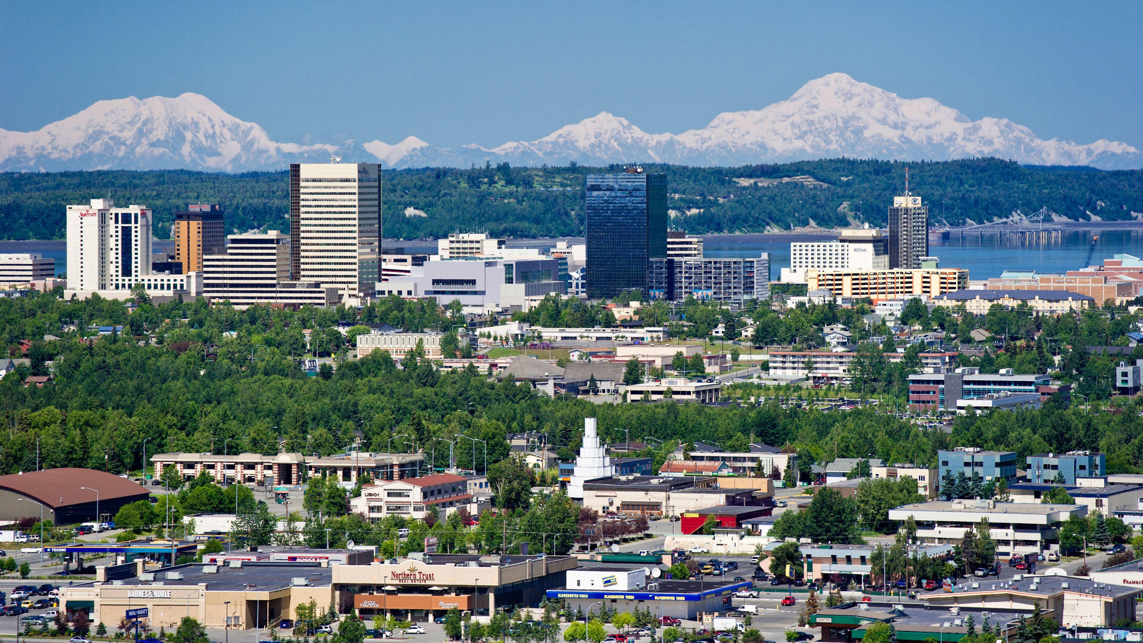 Anchorage All Around City Tour w/ taste of smoked salmon