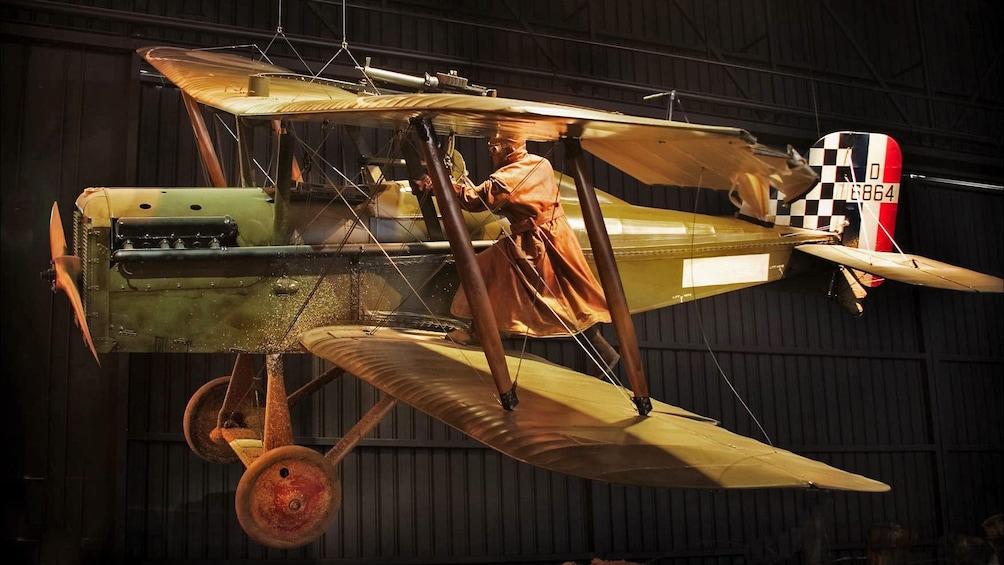 antique plane in christchurch