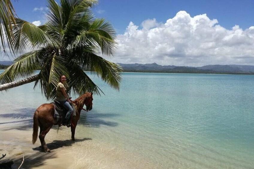 Horseback Riding on the Virgen de Miches Beach