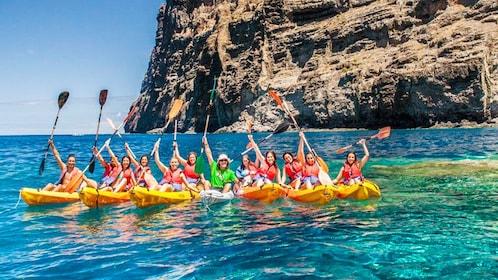 kayakers in Tenerife