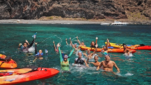 kayakers in Tenerife