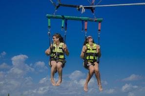 Show item 2 of 10. Parasailing Adventure in Cancun Beachside