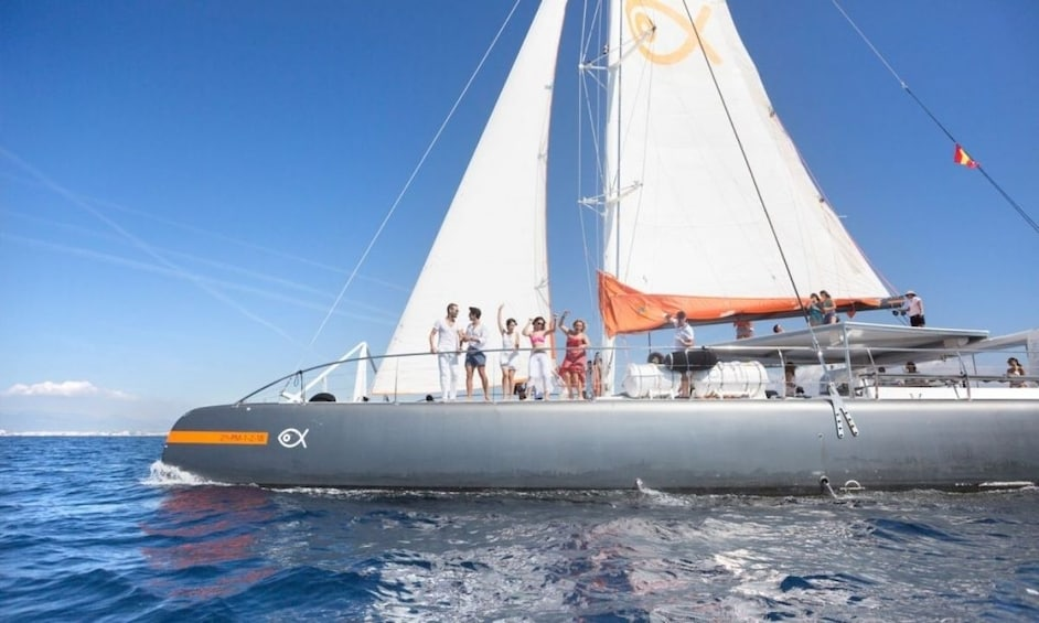 Catamaran Cruise Along the Bay of Palma with Lunch or Dinner