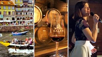 Douro River Cruise, Port Wine Tasting & Live Fado Show