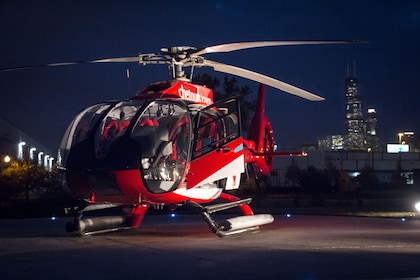 Helicopter Flight at Night