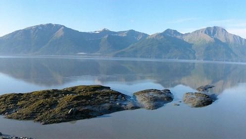 Serene view of the waters in Alaska