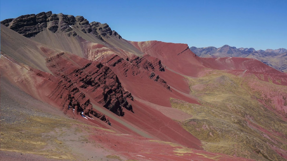 Show item 3 of 5. Rainbow mountain in Lima