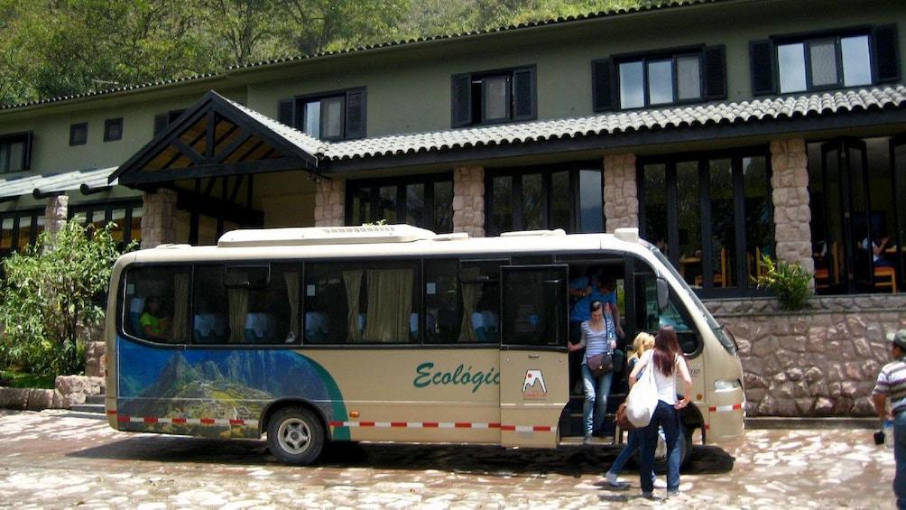 Show item 2 of 5. Tour bus in Machu Picchu