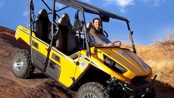 T-Rex 4x4 Tour at Hell's Revenge Trail in Moab, Utah.