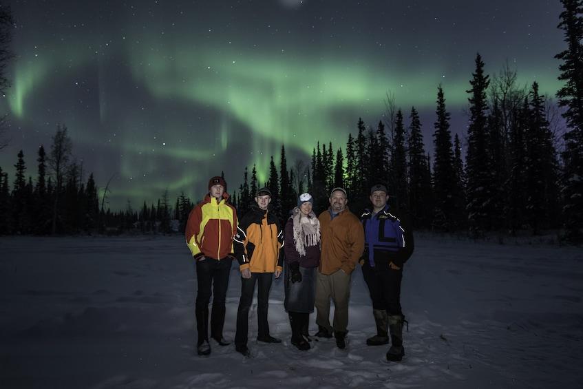 Show item 2 of 10. Aurora / Northern Lights Lodge tour.