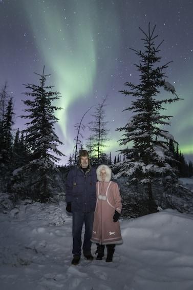 Show item 10 of 10. Aurora / Northern Lights Lodge tour.