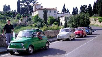 Tour im Fiat 500 durch Florenz und die Chianti-Hügel