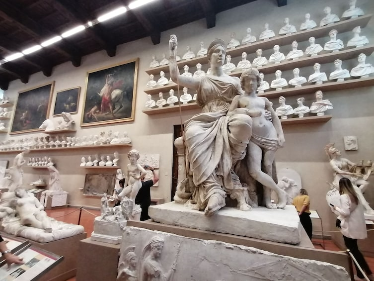 Show item 2 of 8. Skip-the-Line: Accademia Gallery Tour with Audio-guide