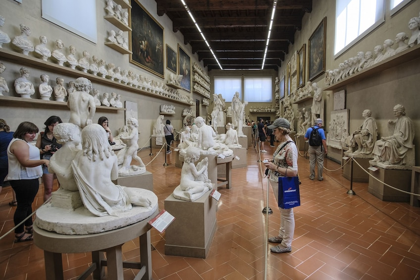 Show item 3 of 8. Skip-the-Line: Accademia Gallery Tour with Audio-guide
