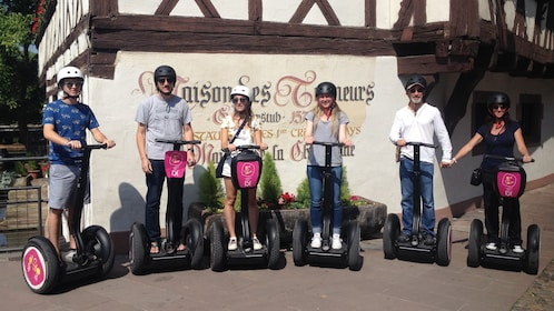 Segway tour group in Strasbourg