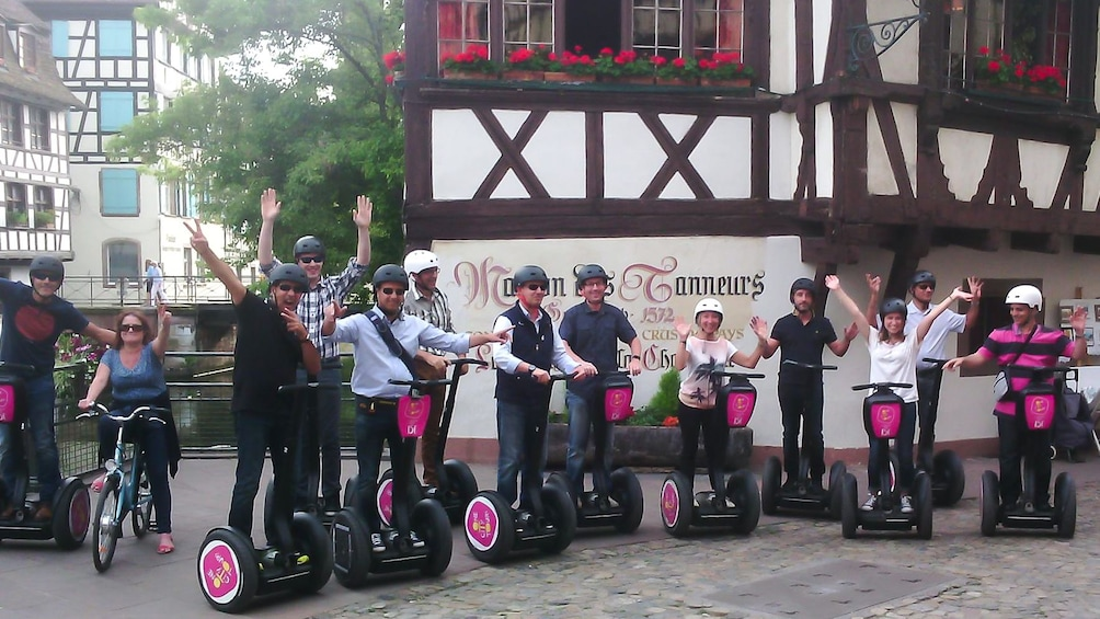Charger l'élément 2 sur 5. Segway tour group in Strasbourg