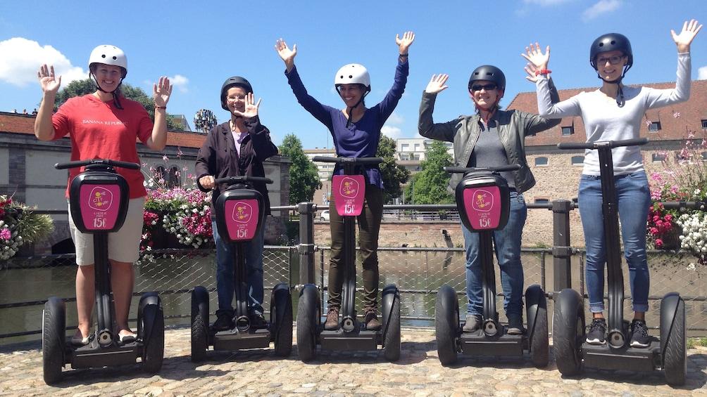 Charger l'élément 1 sur 5. Segway tour group in Strasbourg