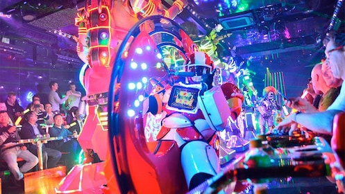 Vibrant view of the Tokyo Robot Show in Tokyo