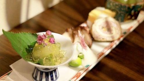 Dessert at the Authentic Kaiseki Dinner in Tokyo