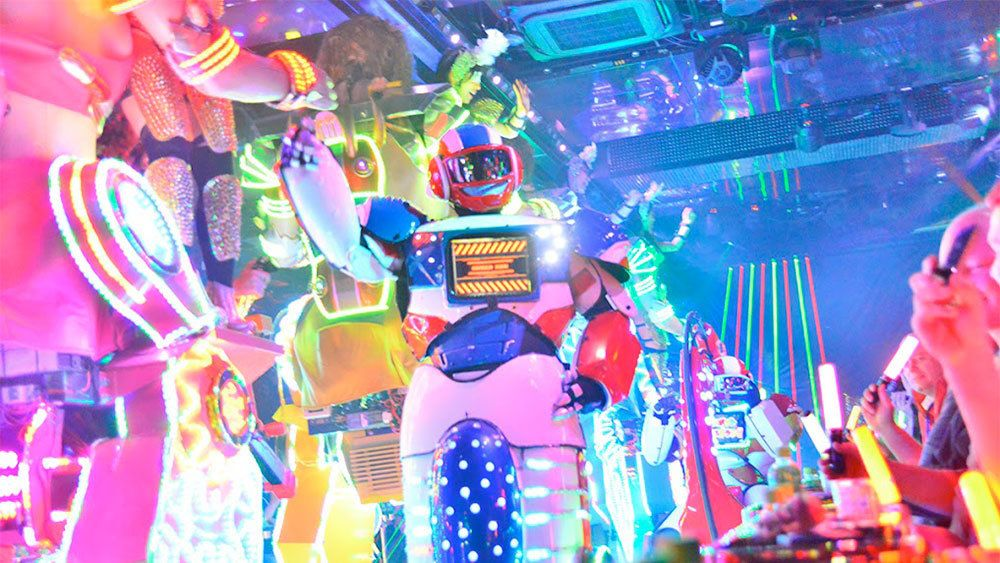Robots at the Tokyo Robot Show