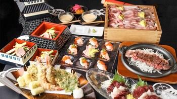 Robot Show Admission & Dinner at Samurai-Themed Sengoku Buyuden Izakaya
