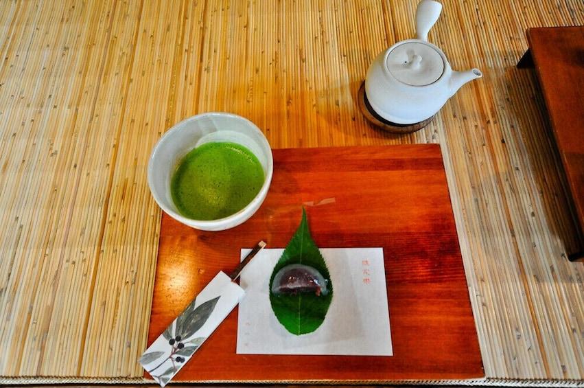 Show item 5 of 8. Sado Tea Ceremony Experience in Yanaka