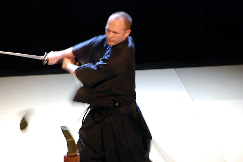 Show item 4 of 9. Private Iaido Sword Lesson