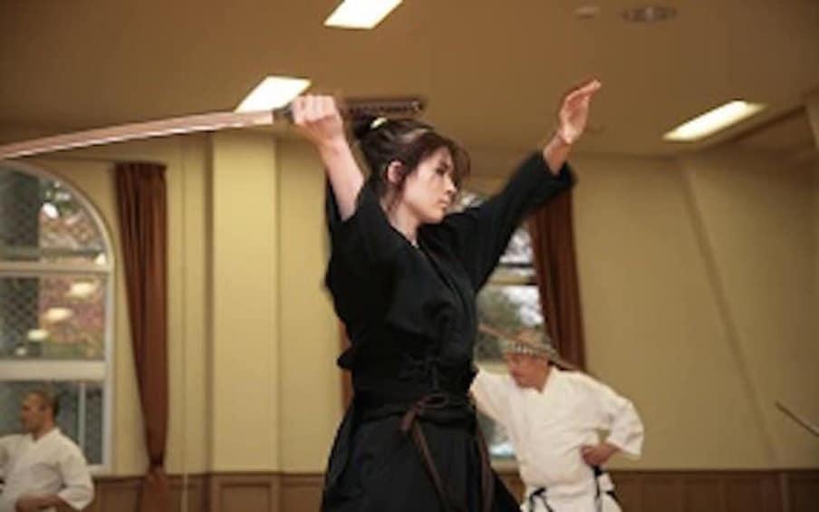 Show item 1 of 9. Private Iaido Sword Lesson