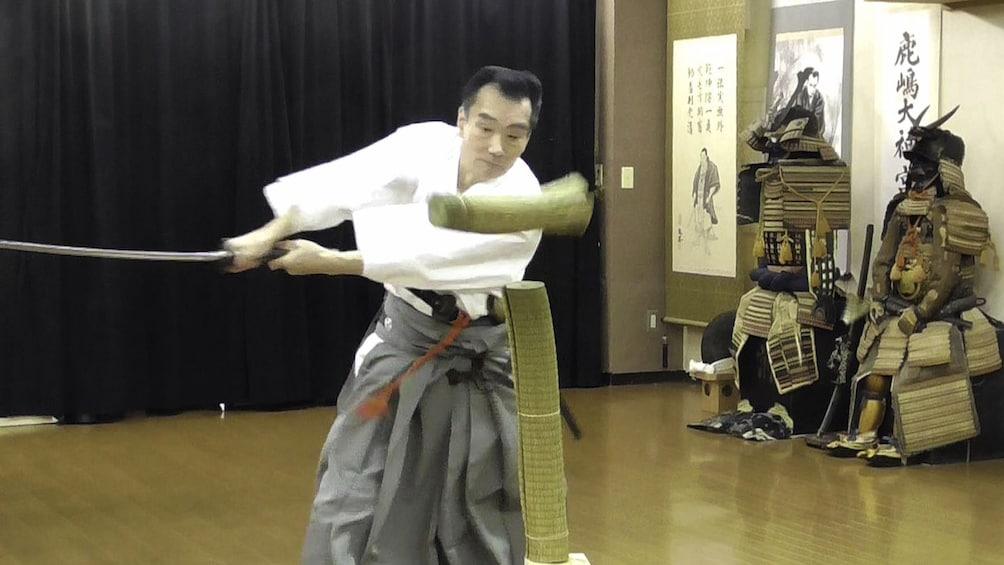 Show item 2 of 9. Private Iaido Sword Lesson