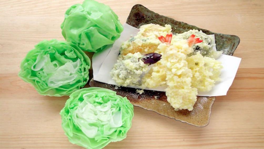 Food Sample Making in Asakusa