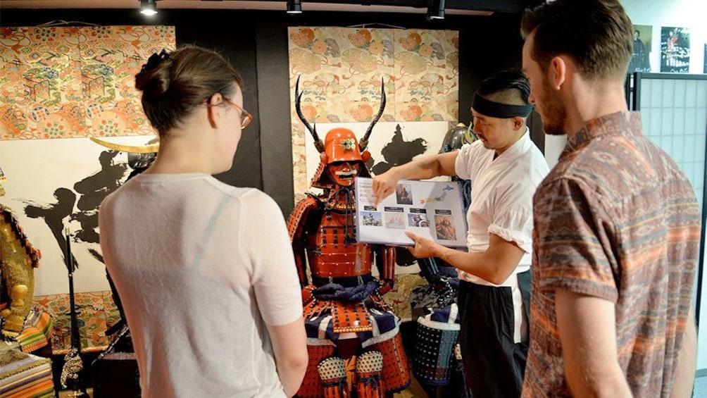 Apri foto 2 di 10. Samurai Armor Wearing tour in Tokyo, Japan