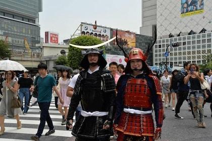 Samurai Armor Wearing & Photo Shoot Experience in Shibuya