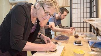 Traditional Woodblock Printing Workshop in Asakusa