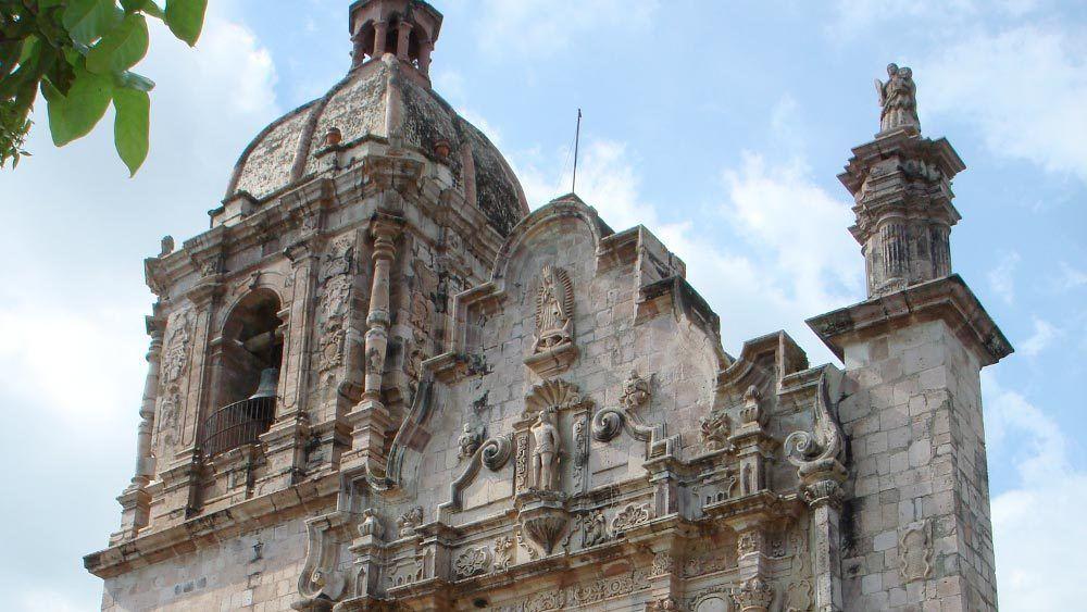 colonial church of saint sebastian