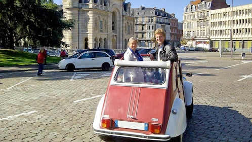 Private Tour of Lille with Tastings in a 2CV in Marseille, France