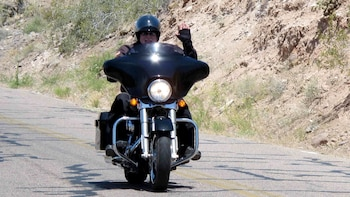Motorcycle Adventure Along Route 66