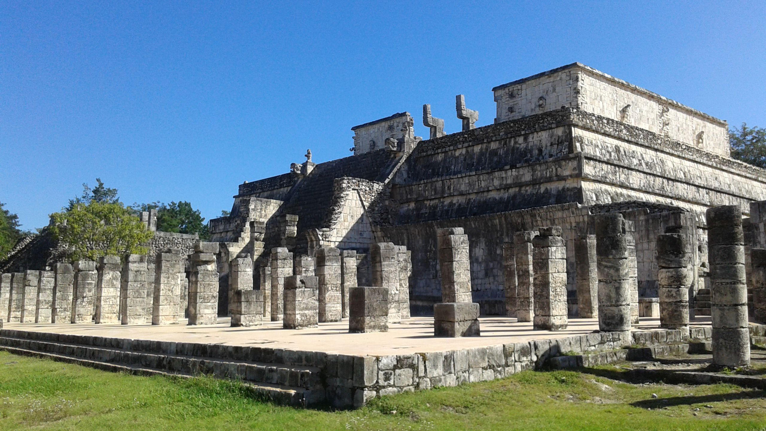 A Mexican Mayan ruin