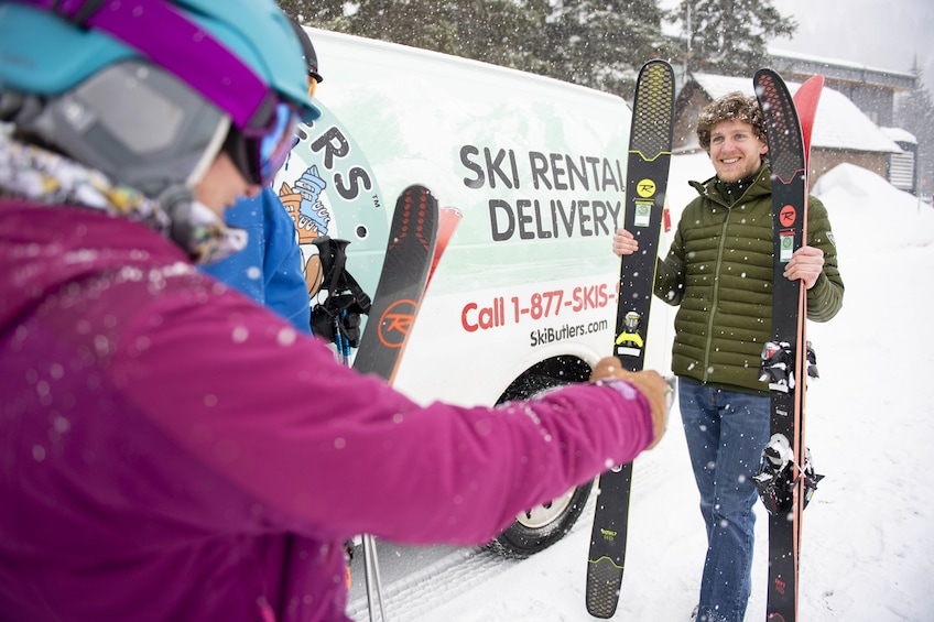 Show item 3 of 9. North Lake Tahoe Snowboard Rental Delivery Package