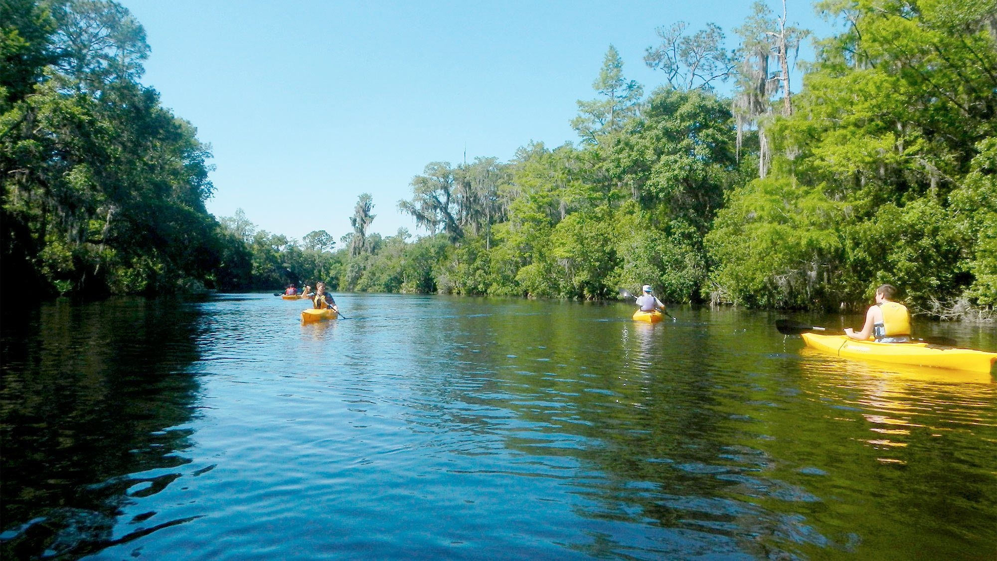 View of the Kayak Adventure Tour in Orlando