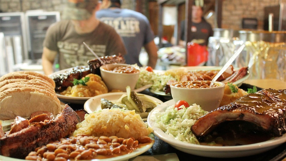 Food on the Hill Country BBQ in Austin
